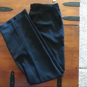 TAHARI pinstriped dress slacks
